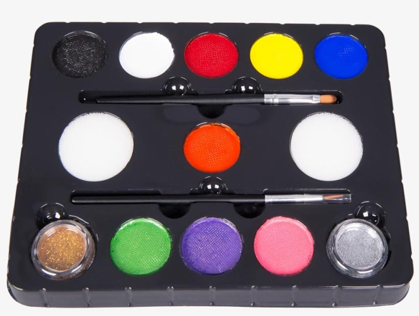 Original Buggly Kids Face Paint Kit - Face Paint Kit Transparent, transparent png #2042299
