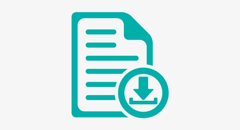 Icon Document Download Teal Upload Your Resume Icon Free