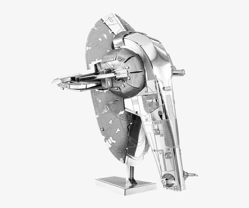 Picture Of Slave I - Star Wars Metal Earth 3d Metal Model Kit, Slave 1, transparent png #2045125