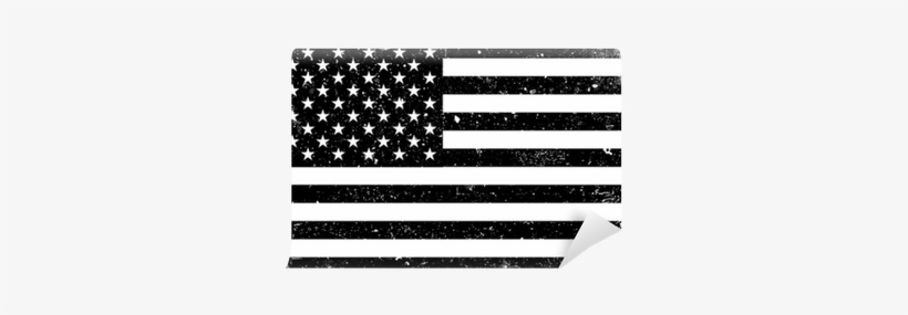 Grunge Monochrome United States Of America Flag - Flag Usa, transparent png #2045387