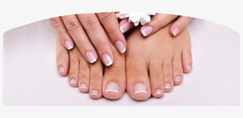 The Diamond Ring - Pink And White Toes Nails, transparent png #2046876