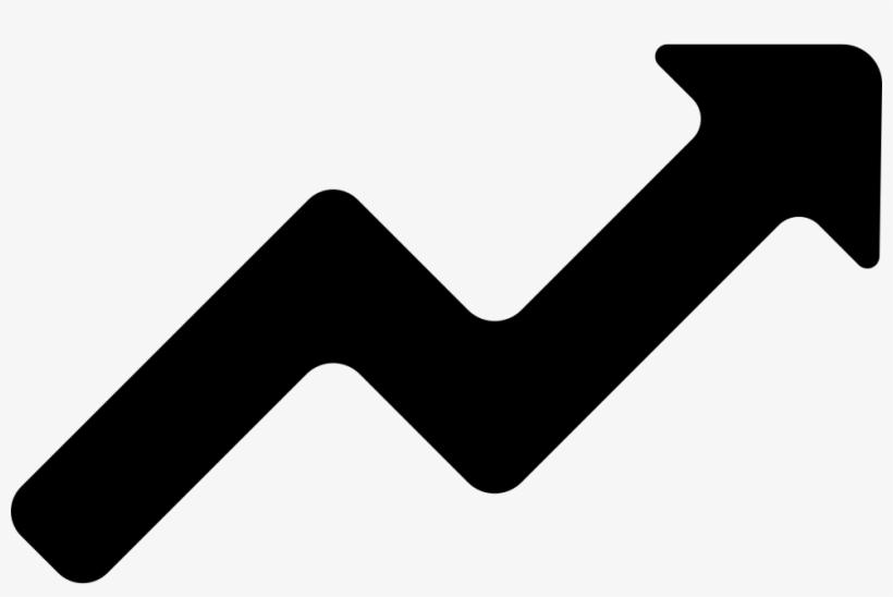 Line Ascendant Graphic Of Zigzag Arrow Svg Png Icon - Zig Zag Arrow Icon, transparent png #2047090