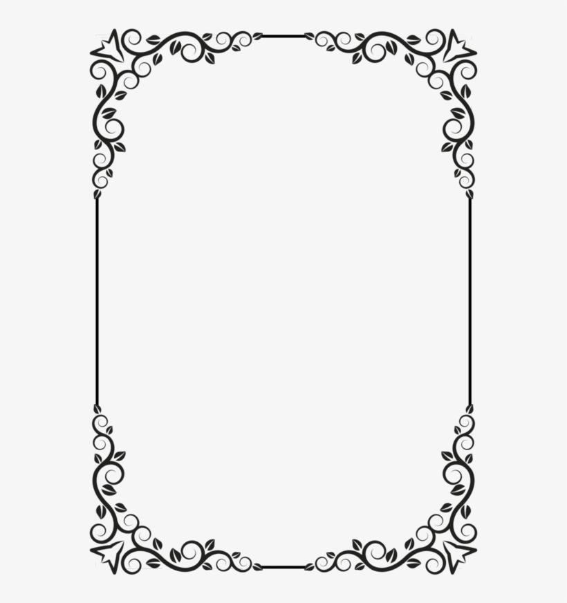 Border Design, Card Tricks, Dremel, Page Borders, Borders - Pergaminos De Blanco Y Negro, transparent png #2047954