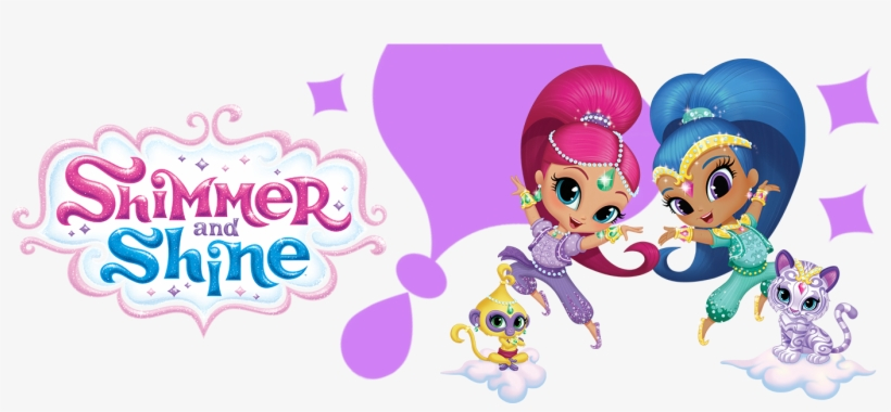 Nickelodeon Shimmer & Shine Dolls - Shimmer And Shine Png, transparent png #2048109