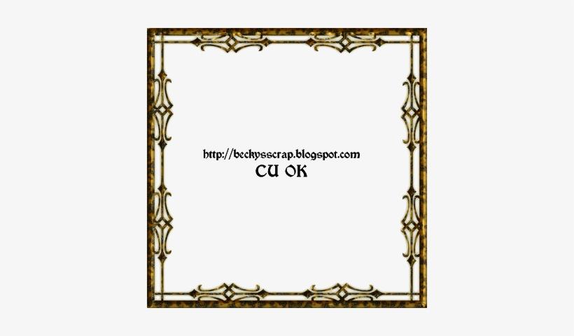 Vintage Corner Borders Png Commercial Use, Photoshop, - Border Frame, transparent png #2048678