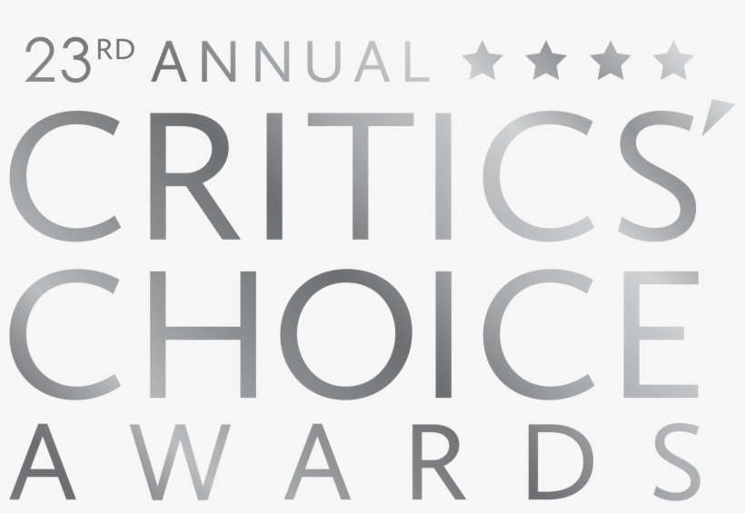 Critics Choice Nominations Take Shape Of Water I Can't - 23rd Annual Critics Choice Awards Logo, transparent png #2049233