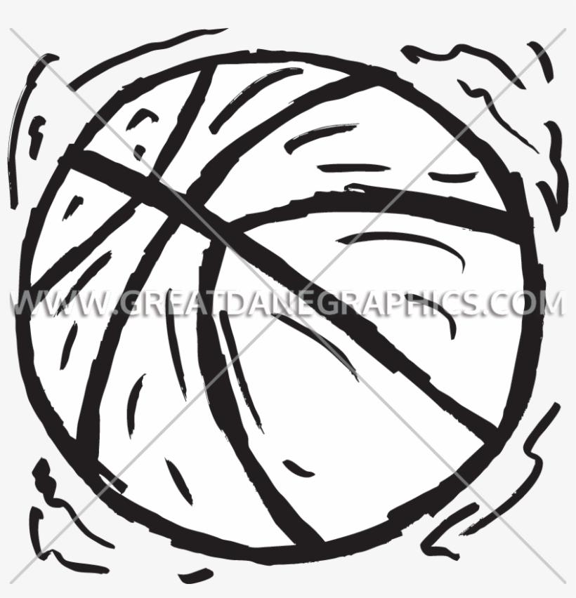 Grunge Basketball - Women's Basketball Tank Tops, transparent png #2050029