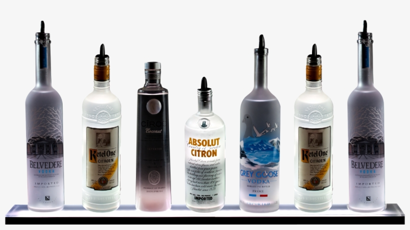 Bar Bottles Png - Liquor Shelf Png - Free Transparent PNG