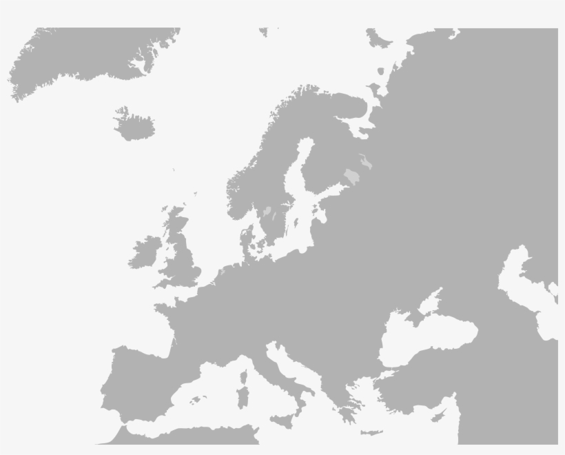Map Of The World No Borders.792px Blank Map Europe No Borders Europe Map Black Free