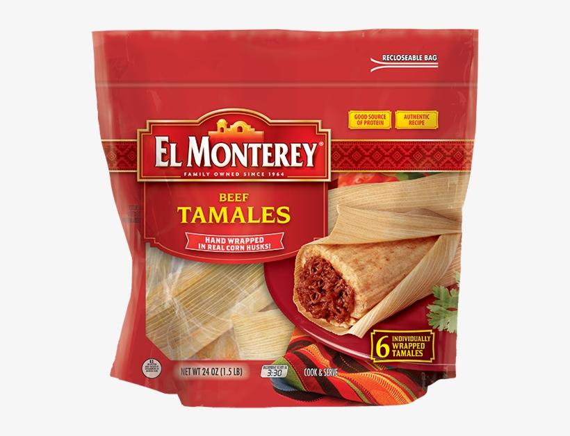 6-count Tamales - El Monterey Taquitos, Chicken - 21 Taquitos, 21 Oz, transparent png #2057053