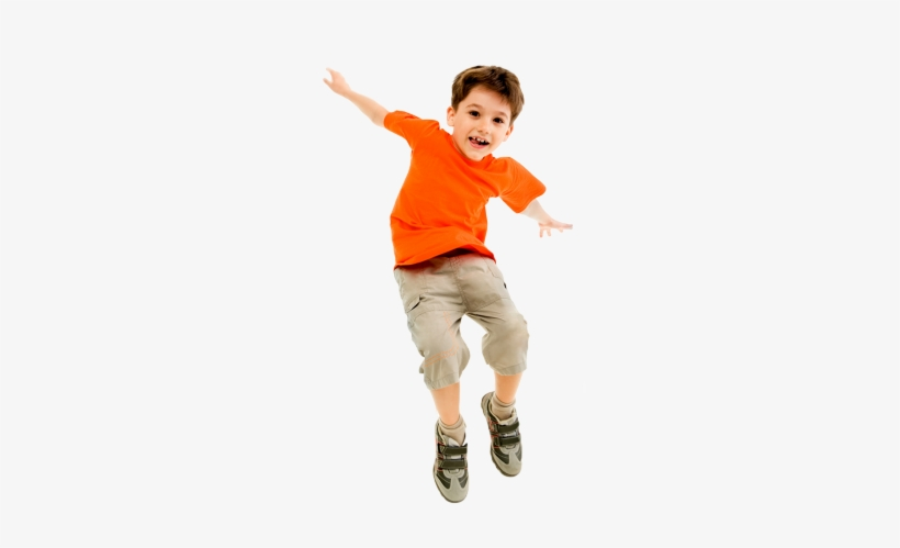 Kids Jumping Png - Child Jumping, transparent png #2057838