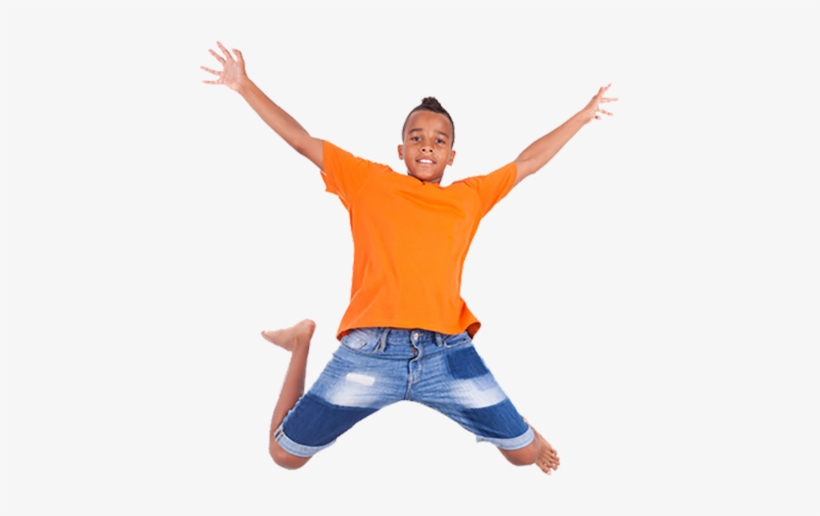 Jumping Kid - Kid Jumping Png, transparent png #2058430