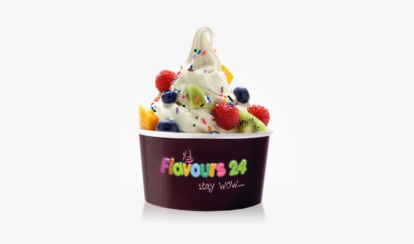 Flavours24 Frozen Yogurt - Menchie's Frozen Yogurt, transparent png #2059964