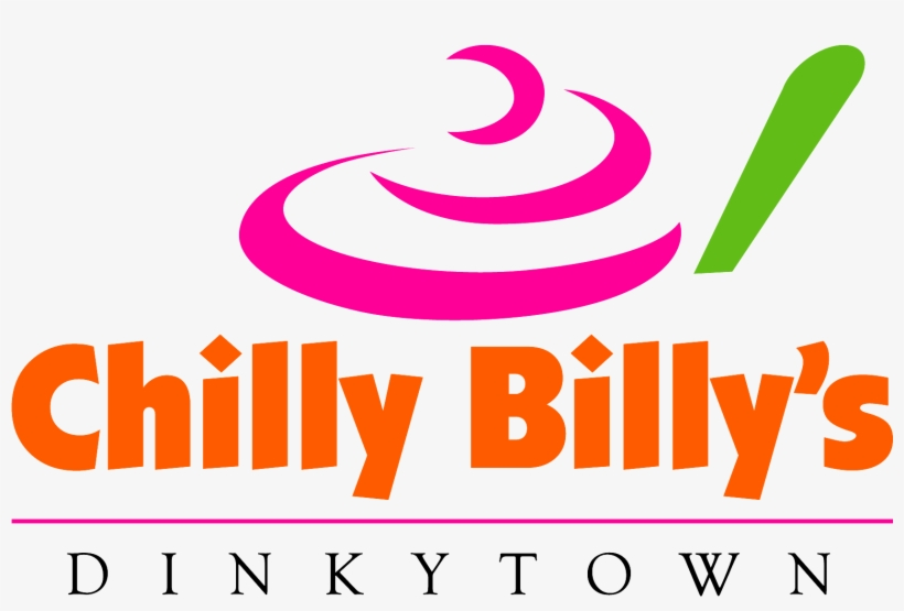 Chilly Billy's Frozen Yogurt Logo - Frozen Yogurt Logo, transparent png #2060486