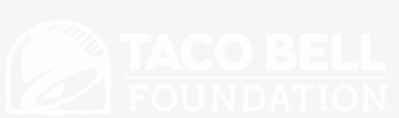 Taco Bell Black And White Png - Taco Bell Foundation, transparent png #2060637