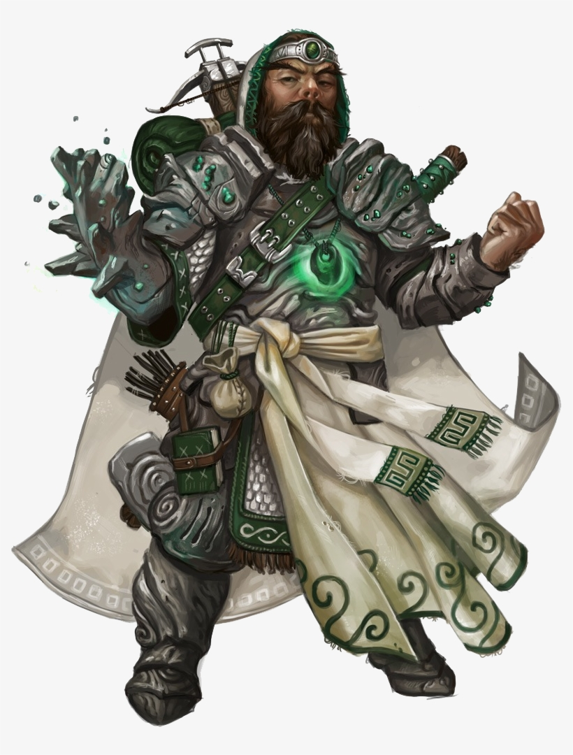 Pathfinder Confused Rpg Png - Dungeons And Dragons Dwarf Paladin, transparent png #2060919