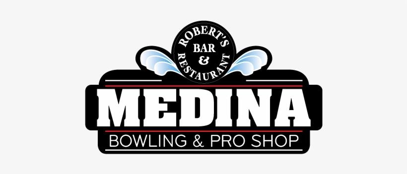 Medina Logo Bowling 500px Wide - Medina Entertainment Center