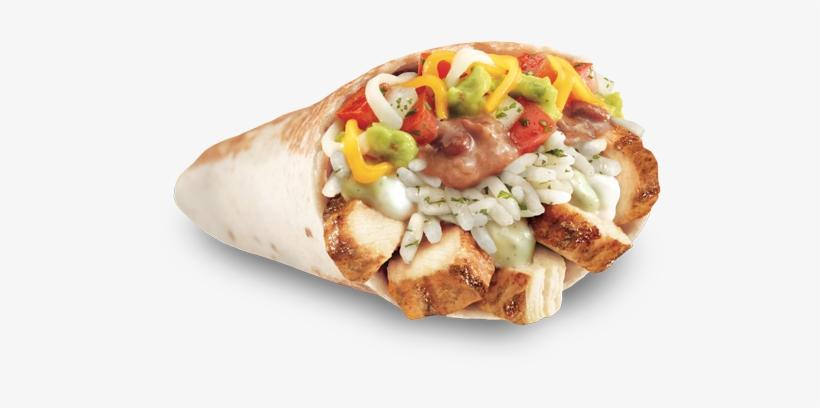 "Pdp Xxl Chicken Burrito "" - Chicken Blt Burrito Taco Bell, transparent png #2061352"