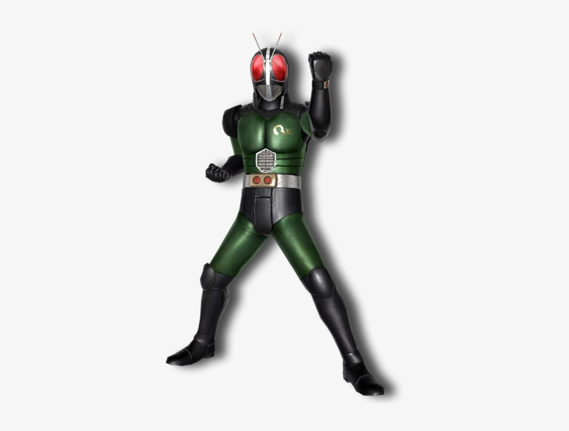 Black Rx - Kamen Rider Black Rx Pose - Free Transparent PNG