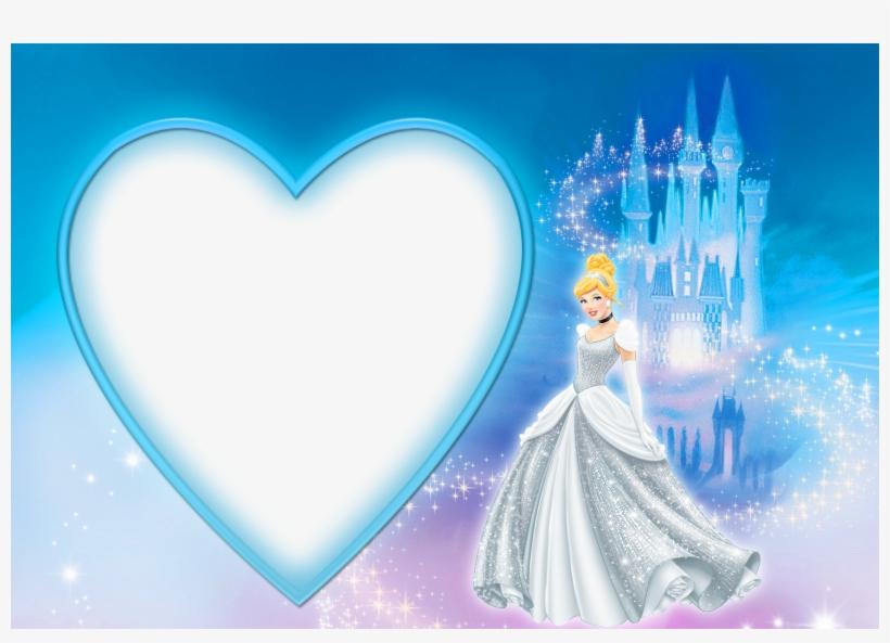 Picture Borders, Disney Frames, Cinderella Birthday, - Cinderella Frames Png, transparent png #2068293