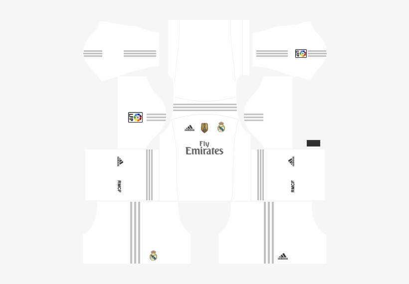 a109675a9cf Real Madrid Kits 2015 2016 Dream League Soccer - Kits Dream League Soccer  2018 Santos