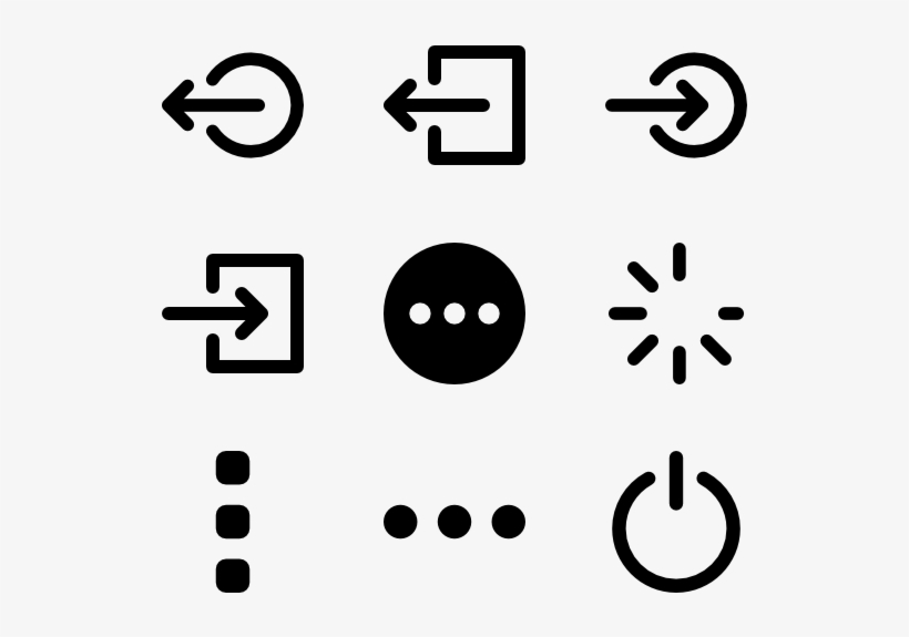 Web Button Compilation - Menu Icon, transparent png #2069735