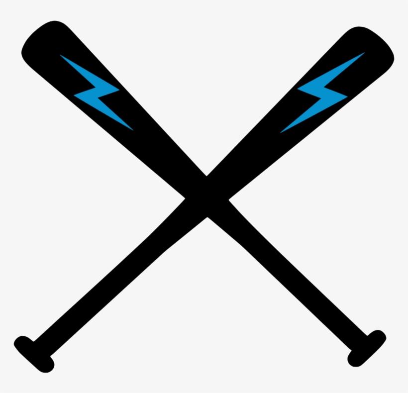 Baseball bat blue. Icon bats clipart png