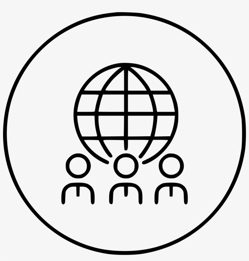Employee Buisness Work Global Team Conections Comments - Icons World Vector Free, transparent png #2074665