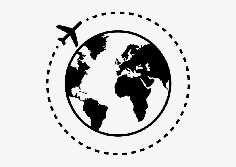 Global - World Travel Icon Png, transparent png #2074783