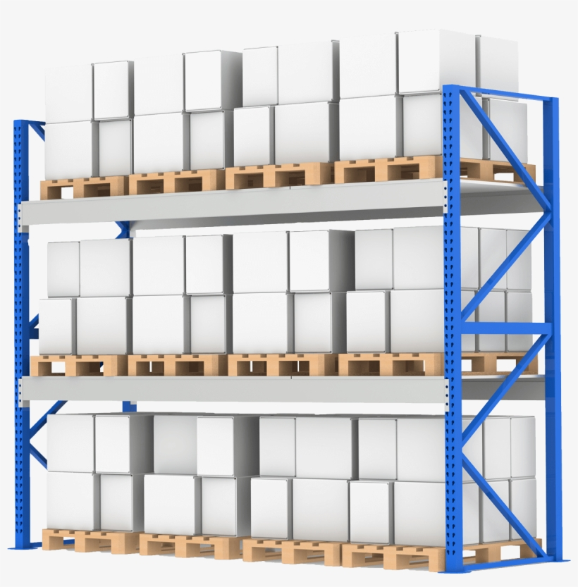 Industrial Rack Shelving By Power Machinery Warehouse
