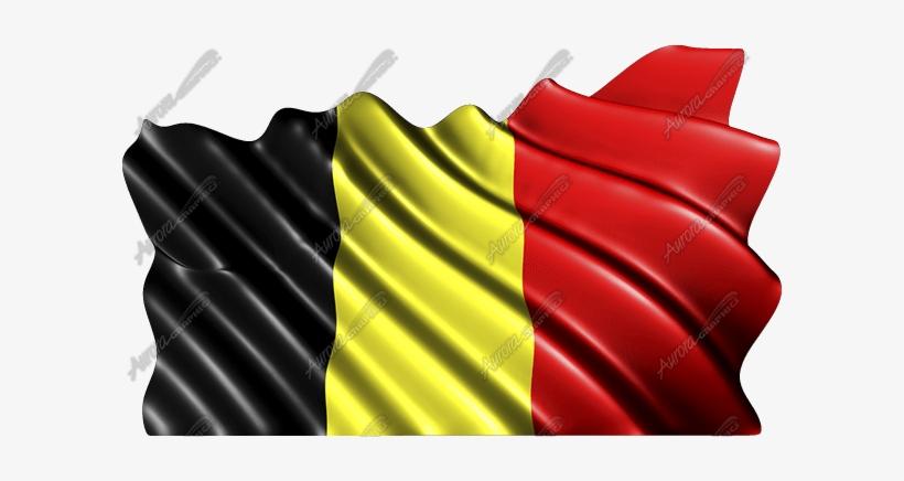 Waving Belgium Flag - Puerto Rico Flag Waving, transparent png #2076903