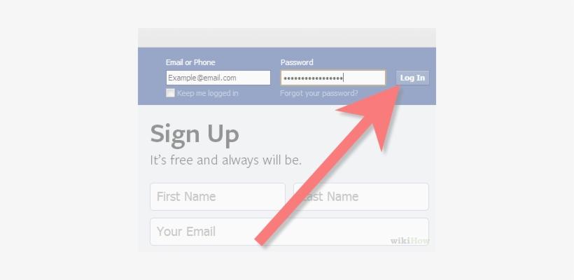 Imagen Titulada Add Facebook Stream To Google Plus - Fake Facebook Domain, transparent png #2080684