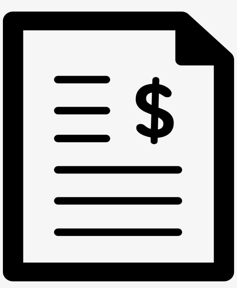 Financial Report Icon Png, transparent png #2088663