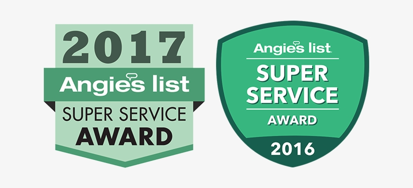 The Prestigious Angie's List Super Service Award Is - Angie's List Super Service Award 2017 Logo, transparent png #2089624