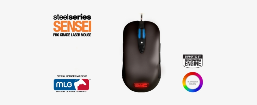 Steelseries Mlg Sensei Gaming Mouse (pc), transparent png #2090478