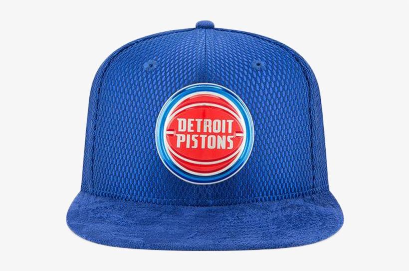 Detroit Pistons On-court 2017 9fifty Hat - Detroit Pistons 5' X 8' Area Rug, transparent png #2092815
