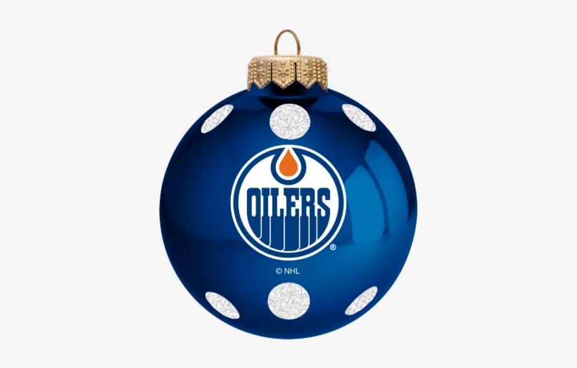 "Edmonton Oilers 3"" Ball Ornament - Edmonton Oilers Flag, transparent png #2093049"