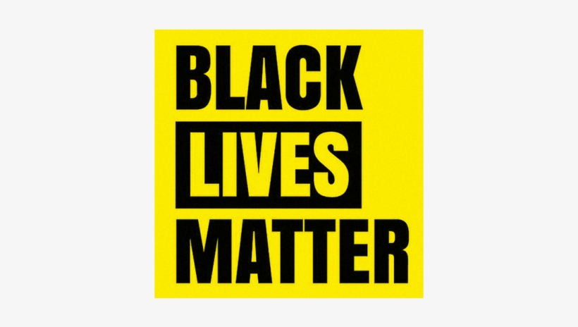 Was The Logo That Ultimately Took Hold - Black Lives Matters Posters, transparent png #2094674