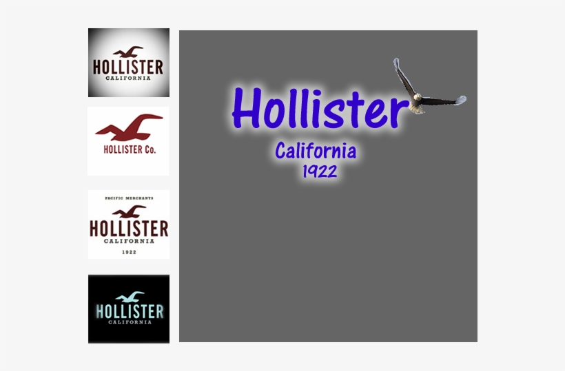 On This Assignment We Had To Chose A Logo And Redesign - Hollister Gift Cards - Free Shipping, transparent png #2095681