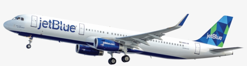 Jetblue Has A Birds-eye View Of The Customer Journey - Jet Blue Air Plane, transparent png #2096065