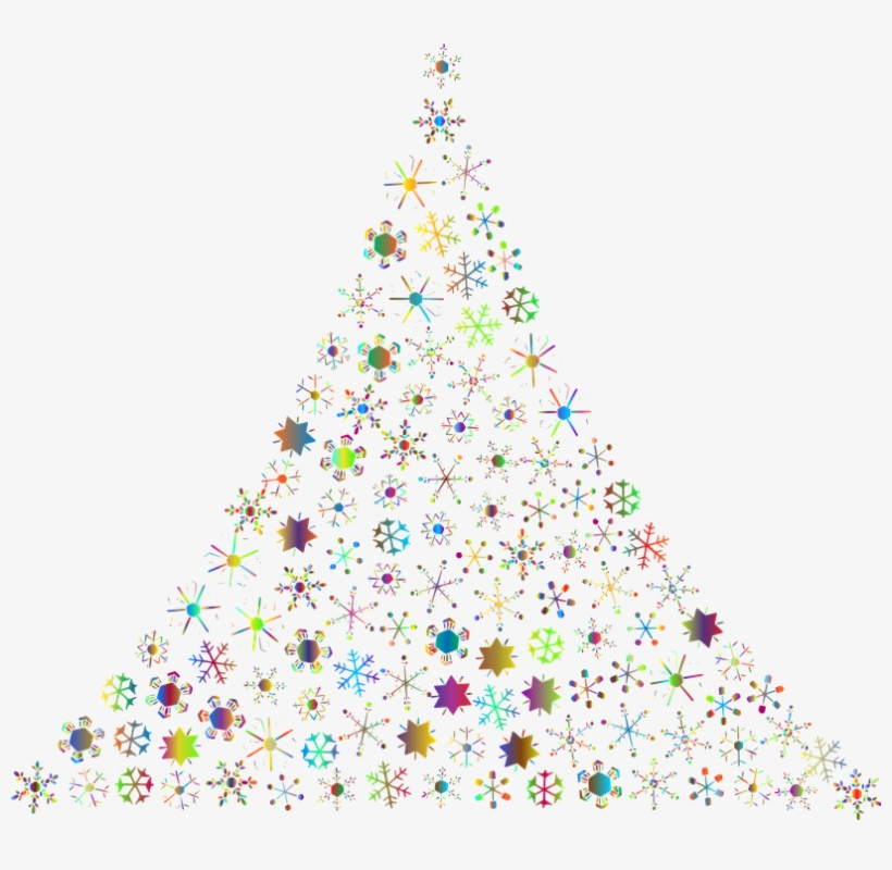 Christmas Tinsel Transparent Background.Snowflakes Abstract Christmas Tree Festive Holidays