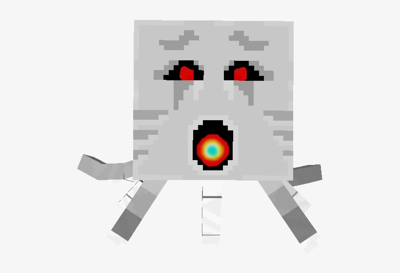 Ghost Minecraft Ghast Titan Free Transparent Png Download Pngkey