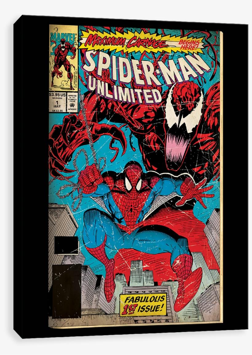 Spider-man Maximum Carnage - Spider-man Unlimited, transparent png #2099825