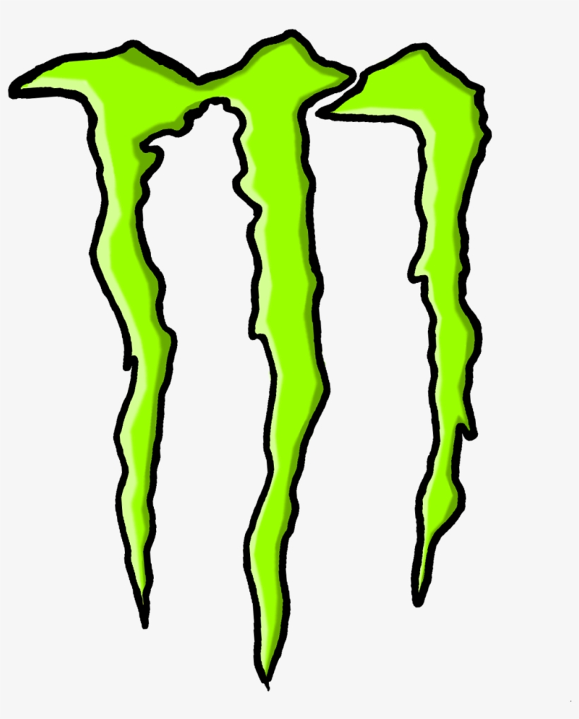 Monster Energy Drink Embroidery Design - Monster Energy Logo Clear, transparent png #210152