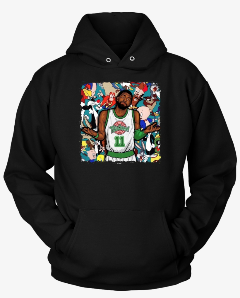 """Kyrie Irving """"tune Squad"""" Hoodie - Let It Go T−shirt Tank Top Hoodie, transparent png #210632"""