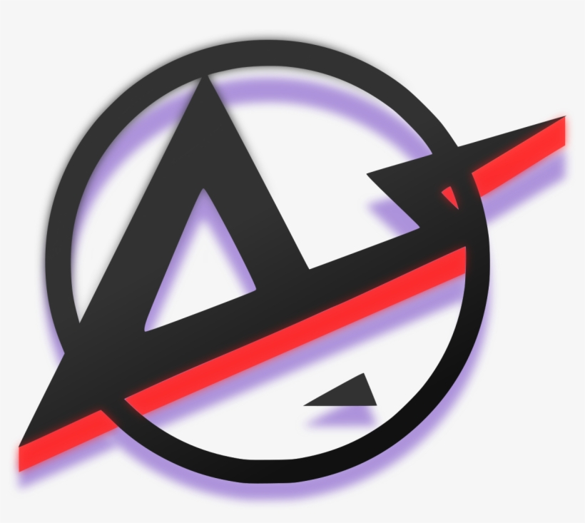 Amped Logo - Cool Discord Server Icons - Free Transparent