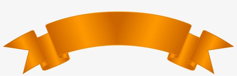 Ribbon Orange Png, transparent png #211712