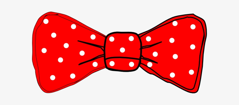 Bow Tie Red Polka Dot Clip Art - Bow Ties Clipart, transparent png #212316