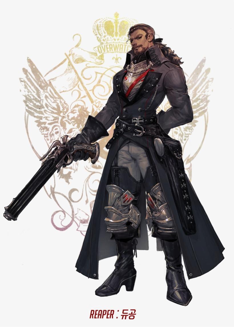 Owfantasia Overwatch Fan Art, Overwatch Reaper, Final