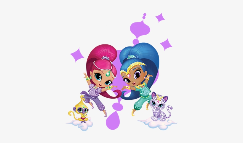 Jpg Freeuse Library Nickelodeon Kidsfest Rbc Race For - Shimmer & Shine Thank You Cards, transparent png #214334